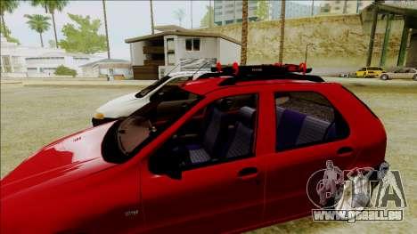 Fiat Palio EDX-Turbo Performance für GTA San Andreas zurück linke Ansicht