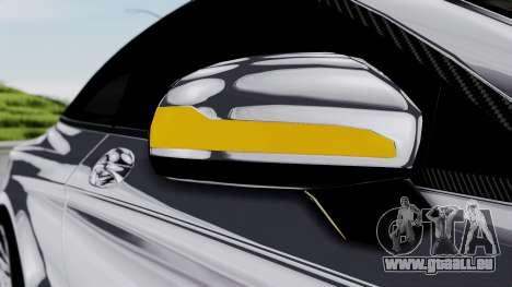 Brabus 850 Chrome pour GTA San Andreas vue de dessus