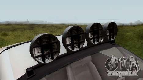 GTA 5 Coil Brawler IVF pour GTA San Andreas vue arrière