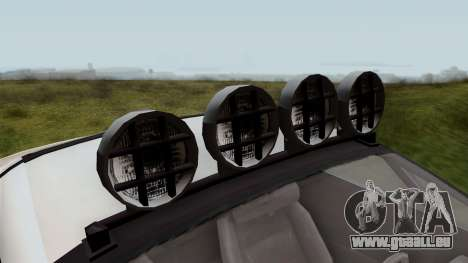 GTA 5 Coil Brawler IVF für GTA San Andreas Rückansicht