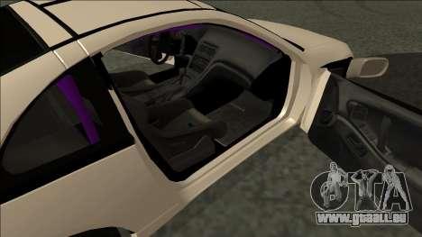 Nissan 300ZX Drift Monster Energy für GTA San Andreas zurück linke Ansicht