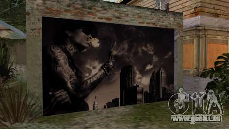 Johnson House Garage - Wiz Khalifa pour GTA San Andreas