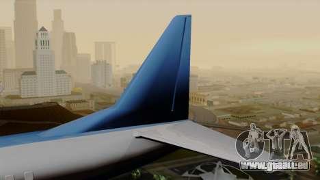 AT-400 Air India pour GTA San Andreas sur la vue arrière gauche