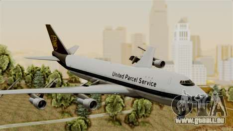 Boeing 747-100 UPS Old pour GTA San Andreas