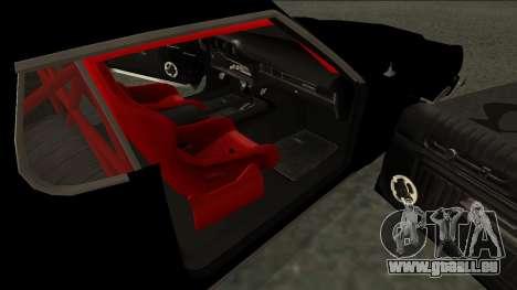 Ford Gran Torino Drift pour GTA San Andreas sur la vue arrière gauche
