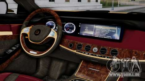 Brabus 850 Gold für GTA San Andreas rechten Ansicht