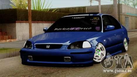 Honda Civic Limousine B. O. Bau für GTA San Andreas