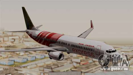 Boeing 737-800 Air India Express für GTA San Andreas