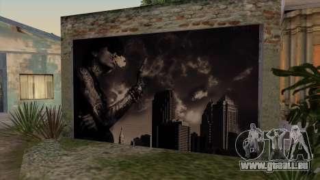 Johnson House Garage - Wiz Khalifa pour GTA San Andreas deuxième écran