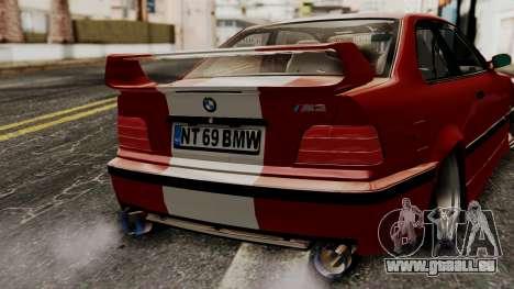 BMW M3 E36 Strike für GTA San Andreas Rückansicht