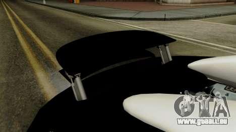 Bugatti Veyron 16.4 2013 Dubai Police pour GTA San Andreas vue intérieure