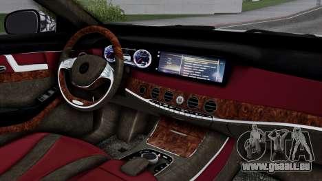Brabus 850 Chrome pour GTA San Andreas vue de droite
