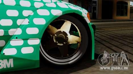BMW M3 E36 Tic Tac für GTA San Andreas zurück linke Ansicht