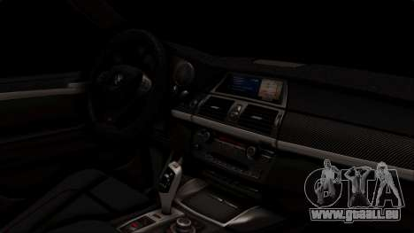 BMW X5M pour GTA San Andreas vue de droite