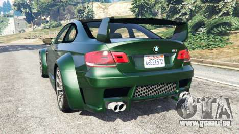 BMW M3 (E92) WideBody pour GTA 5