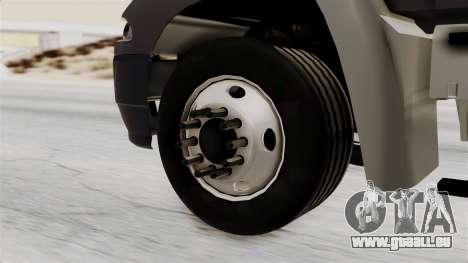 Mack Vision Trailer v2 pour GTA San Andreas sur la vue arrière gauche