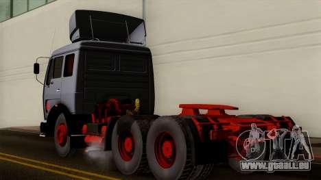Mercedes-Benz Truck 4x6 pour GTA San Andreas laissé vue