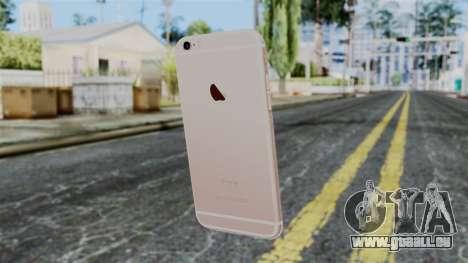 iPhone 6S Rose Gold pour GTA San Andreas deuxième écran
