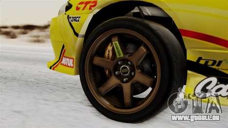Nissan Silvia S15 RDS NGK für GTA San Andreas zurück linke Ansicht