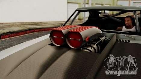 Chevrolet Camaro Drag Street für GTA San Andreas rechten Ansicht