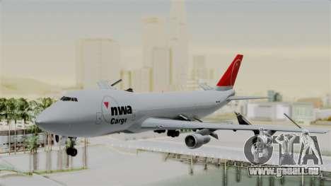 Boeing 747 Northwest Cargo für GTA San Andreas