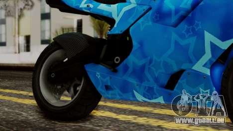 Bati VIP Star Motorcycle für GTA San Andreas rechten Ansicht