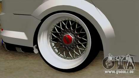 Ford Mondeo für GTA San Andreas zurück linke Ansicht