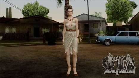 RE5 Excella Gione für GTA San Andreas zweiten Screenshot
