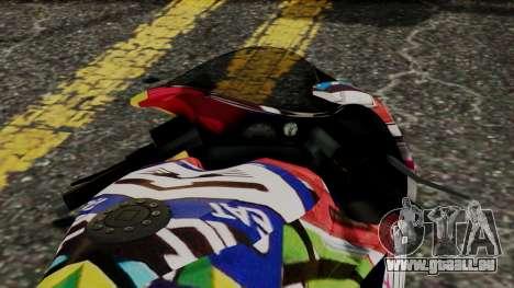 Bati Motorcycle JDM Edition pour GTA San Andreas vue de droite
