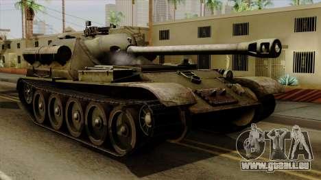 SU-101 122mm from World of Tanks für GTA San Andreas