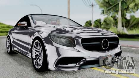 Brabus 850 Chrome pour GTA San Andreas