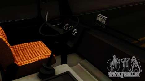 Mercedes-Benz Truck 4x6 für GTA San Andreas Rückansicht