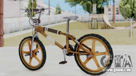 Retro BMX from Bully für GTA San Andreas linke Ansicht