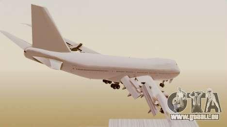 Boeing 747 Template für GTA San Andreas linke Ansicht