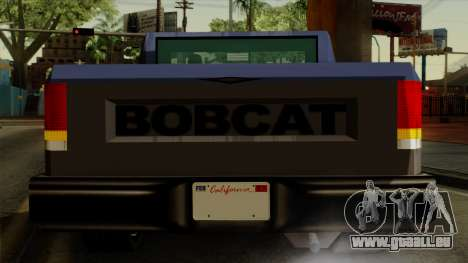 Bobcat from Vice City Stories IVF für GTA San Andreas obere Ansicht