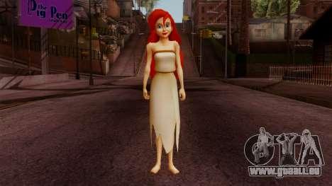 Ariel Mermaid für GTA San Andreas zweiten Screenshot