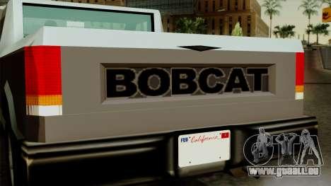 Bobcat from Vice City Stories pour GTA San Andreas vue de droite