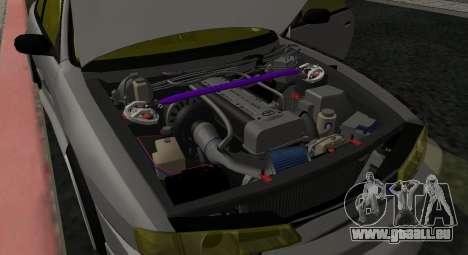 Nissan Silvia S14 JDM v0.1 für GTA San Andreas Rückansicht