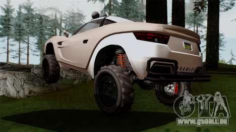 GTA 5 Coil Brawler IVF pour GTA San Andreas laissé vue
