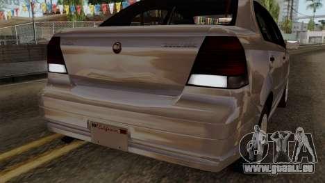 GTA 5 Declasse Asea pour GTA San Andreas vue de dessous