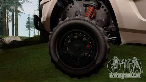 GTA 5 Coil Brawler IVF pour GTA San Andreas sur la vue arrière gauche