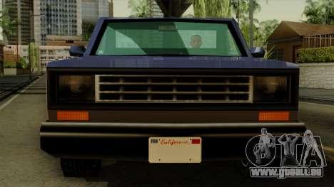 Bobcat from Vice City Stories IVF pour GTA San Andreas vue arrière