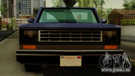 Bobcat from Vice City Stories IVF für GTA San Andreas Rückansicht
