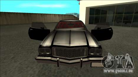 Ford Gran Torino Drift pour GTA San Andreas vue intérieure