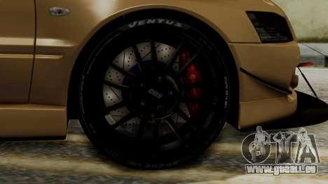 Mitsubishi Lancer Evolution IX MR 2006 für GTA San Andreas zurück linke Ansicht