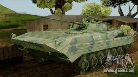 CoD 4 MW 2 BMP-2 Woodland für GTA San Andreas