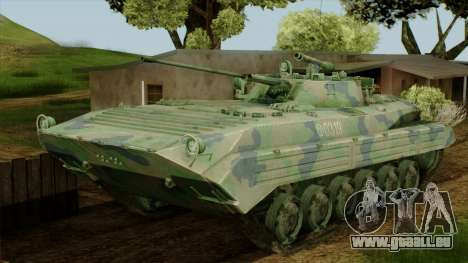 CoD 4 MW 2 BMP-2 Woodland pour GTA San Andreas