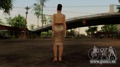 RE5 Excella Gione pour GTA San Andreas troisième écran