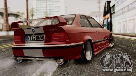 BMW M3 E36 Strike für GTA San Andreas linke Ansicht