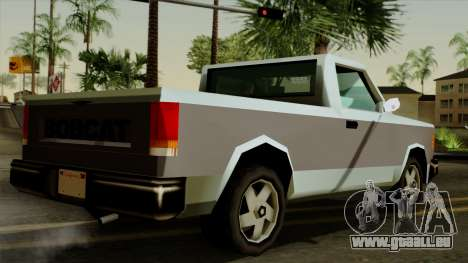 Bobcat from Vice City Stories pour GTA San Andreas laissé vue